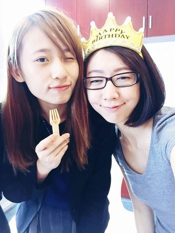 Girls Happy Birthday! Cheese! Guangzhou Taking Photos Party Smile