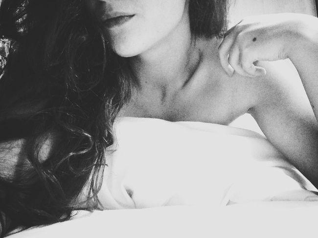 insomnia.. Blackandwhite Bedtime Tease