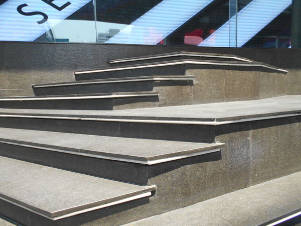 Absence Bangkok City Design Diminishing Perspective Modern Siam Square Staircase Steps Steps And Staircases