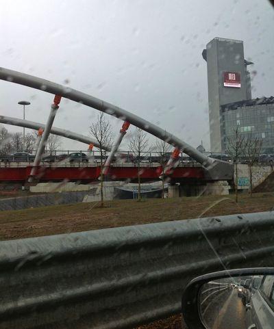 Rainy Day Traffic Homebound