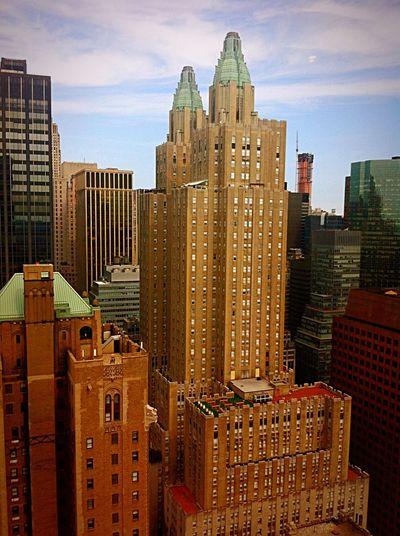 Skyscrapers At Midtown Manhattan