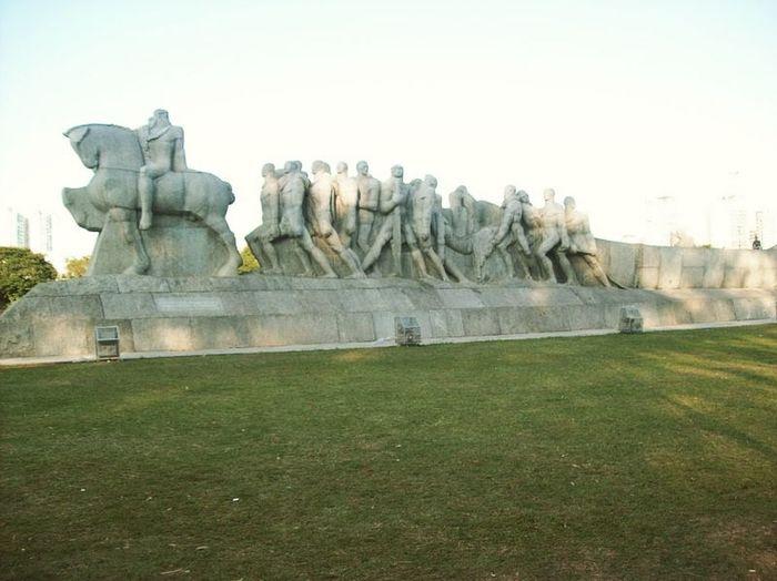 Monumentoasbandeiras Saopaulo City Monuments