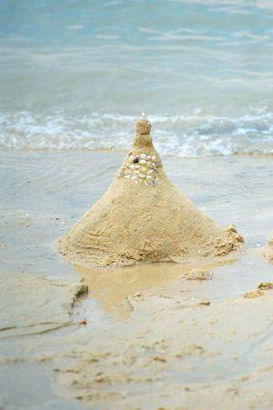หาดทรายแก้ว Beach Sand Sea Water Tranquility Nature Day Sky Outdoors Wave Beauty In Nature No People