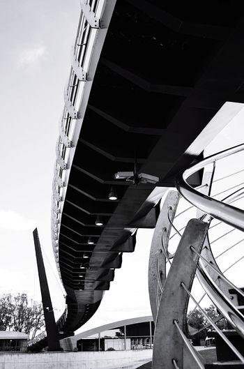 The bridge Bridge City Modern Architecture Built Structure