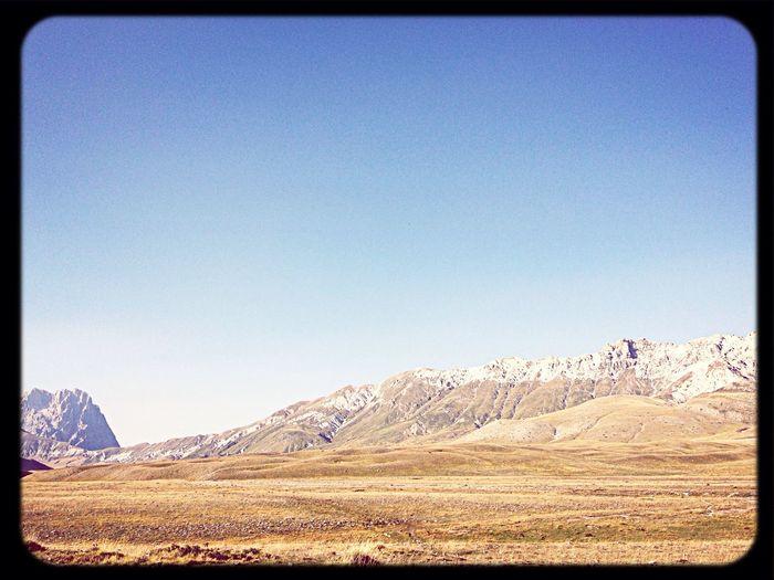 Certe bellezze puoi apprezzarle solo se ami veramente il tuo territorio:l' Abruzzo :-) First Eyeem Photo