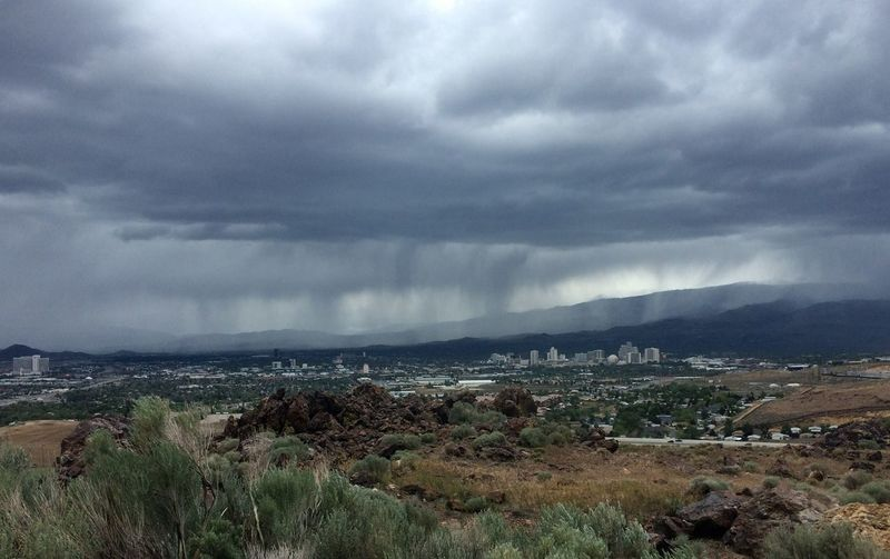 Reno, NV Beauty In Nature Cloud - Sky Day Grass Landscape Mountain Nature No People Outdoors Scenics Sky Storm Cloud Thunderstorm Water