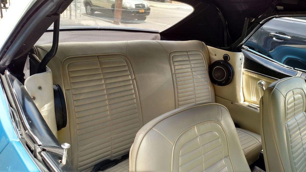 1967 Pontiac Firebird Interior Design