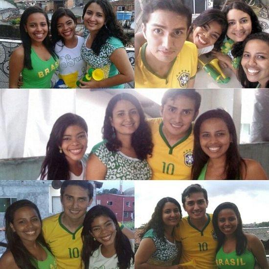 Brasil x México tudo no zero a zero, mas valeu pela companhia rsrs ☺ Amizade Copadomundo Brasil Brazil WeAreOne