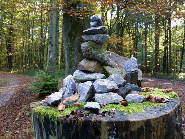 Wandern Hike Steinhaufen