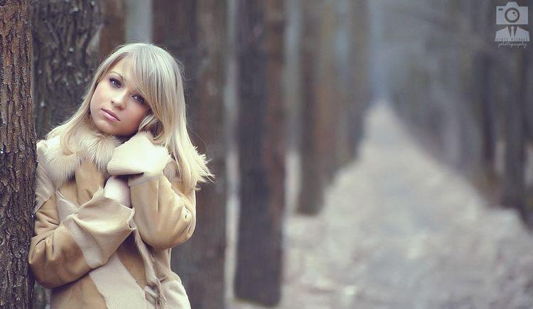 Portrait Model Forest Girls