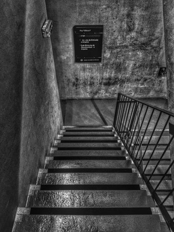 Steps And Staircases Indoors  No People Inspiration Reflection Mobilephotography Black & White Blackandwhite Mobilephoto Black And White Portugal Lisboa