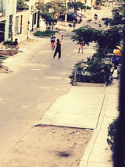 Volley Streets Peru Enjoying Life Great Summer. ✌️✌