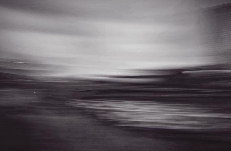 Blurred Motion No People Landscape Blackandwhite