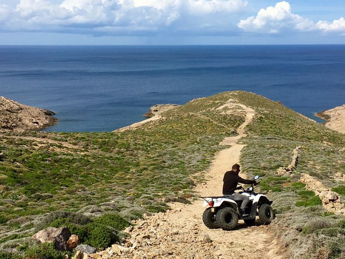 The Journey Is The Destination On The Way Best Destination Travelphotography Cyclades Islands Mykonos,Greece