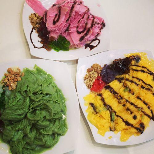 Nhìn vậy hoiii...😪😪😪 Ice Cream Ice Cream ❤ Mango Stawberry Green Tea Fujisnow Sobad Bye ✌ Food
