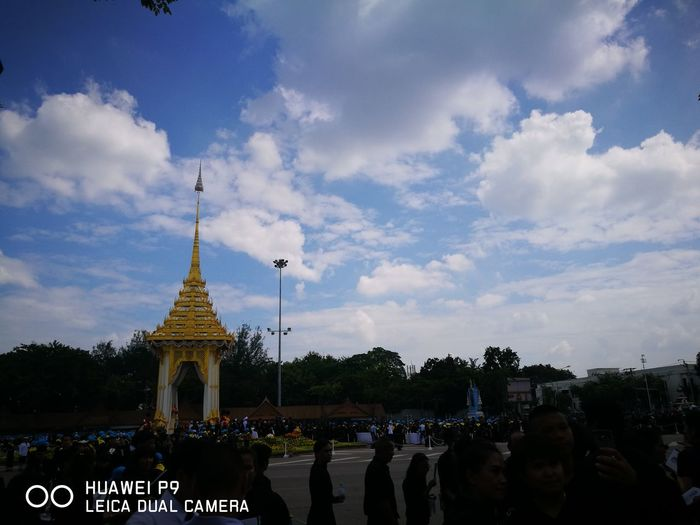 My King Rama IX Say Goodbye Lasttimetogether Sosadtoday Cry And Cry..