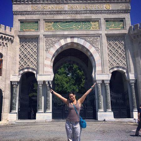 Университет г. Стамбул, проходная... Istanbul турция Стамбул отпуск