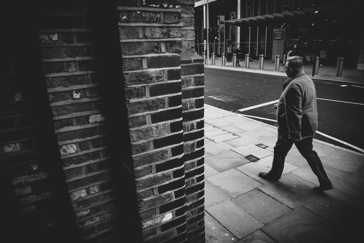 Walking Real People Walking Full Length Men One Person Rear View Adventures In The City Adventures In The City The Street Photographer - 2018 EyeEm Awards