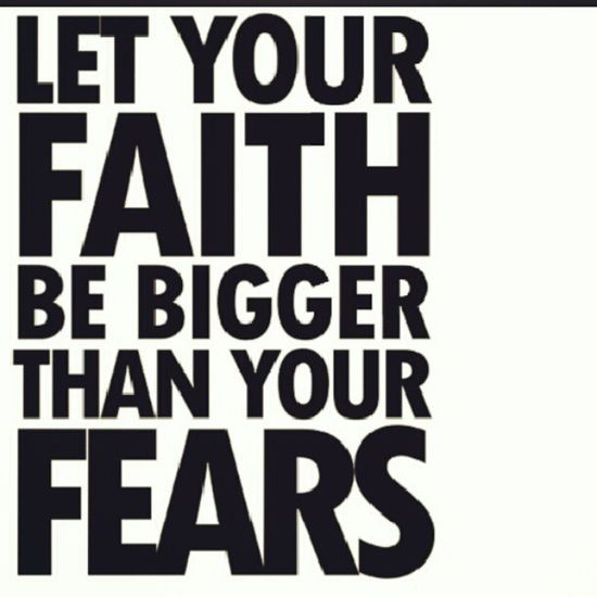 Faith Strength Nomorefears PushYourself