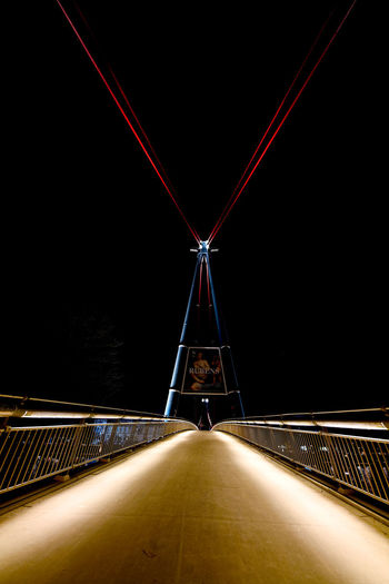 Frankfurt Frankfurt Am Main Frankfurt's Life Nightphotography Nikon Bridge Buildigs Building Building Exterior Night Nikonphotographer Nikonphotography