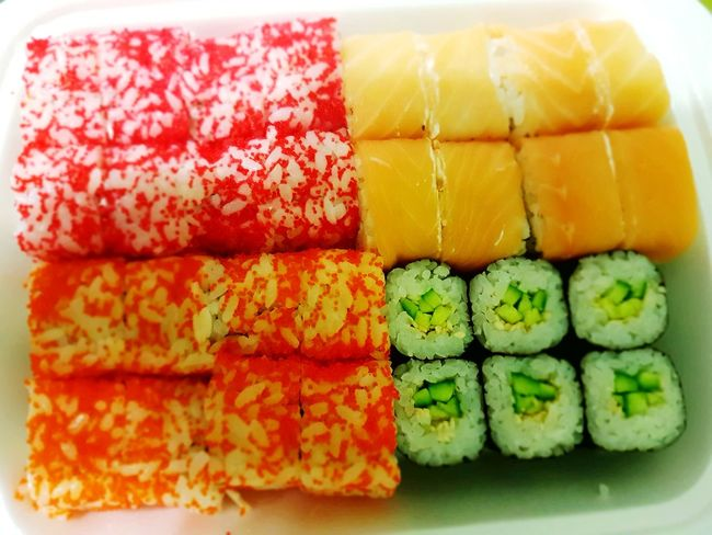Land Color Photography Food Stories Sushi Food Japanese Food Freshness Healthy Eating Indoors  Food And Drink