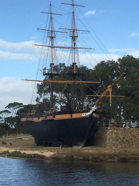 Albany Nautical Vessel Mast Tall Ship Amity