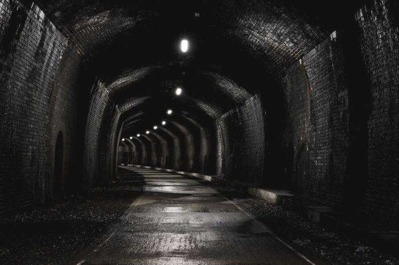 Tunnel Indoors  Headstone Tunnel