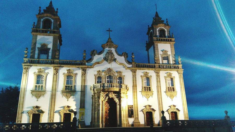 EyeEm Selects Architecture History Built Structure Religion Viseu Portugal Outdoors Travel Destinations Se Catedral Viseu em Viseu, Portugal