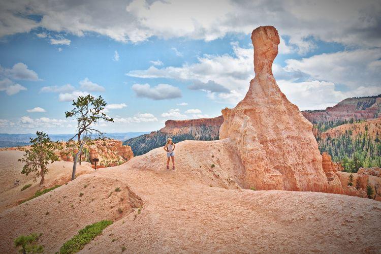 Utah OpenEdit Nikon Summer Nature Amazing Nature Bryce Canyon National Park National Park Bryce Canyon USA Rock Formation Travel Destinations Travel Photography Amazing Place Desert Sand Arid Climate Cloud - Sky Landscape