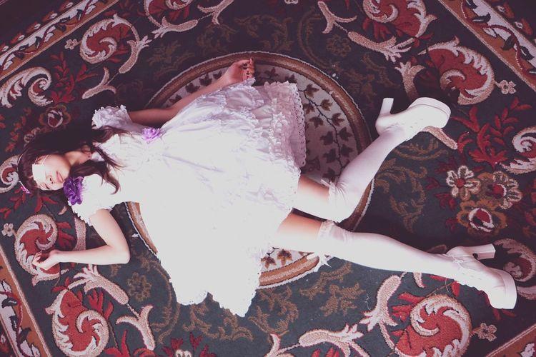 眼帯少女 ポートレート Portrait Girl Dress X-E2 Japanese