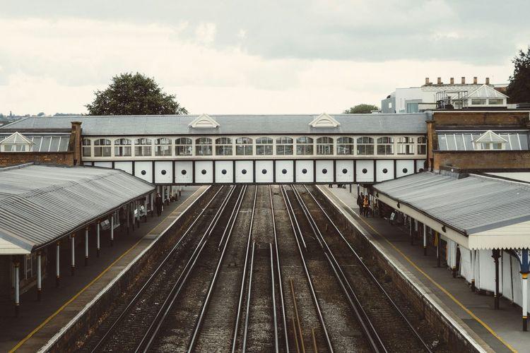 Eastleigh Train Station Railwaystation Railwaystation Train Station Eastleigh