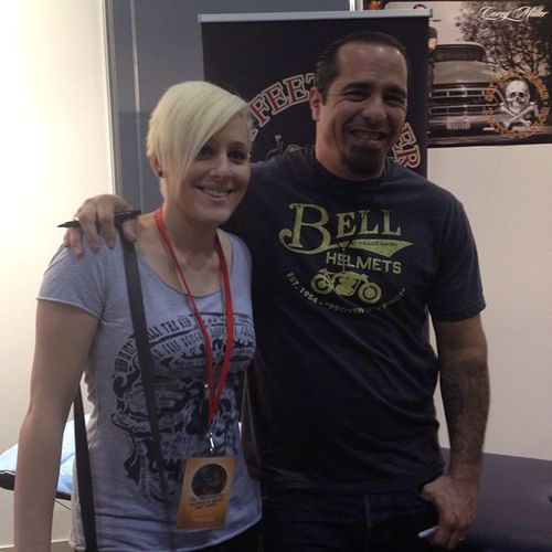 @rachel_tattooist with Coreymiller at Melbournetattooexpo Ink Tattoo