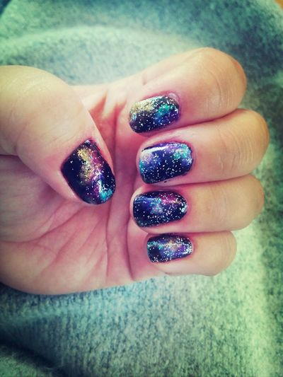 Galaxy Nails We Are Made Of Starstuff