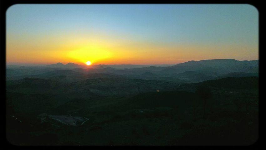 Sunsetsunrise_photo Sunset #sun #clouds #skylovers #sky #nature #beautifulinnature #naturalbeauty #photography #landscape Sunrise Nature_collection Amanecer en la sierra de Grazalema