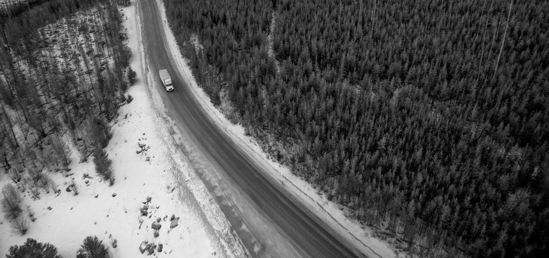 B&w Beauty In Nature Black & White Black And White Photography Blackandwhite Blackandwhite Photography Dji Landscape Nature No People Outdoors PNW Road Scenics Sherman Pass Snow Trees Washington Washington State EyeEmNewHere