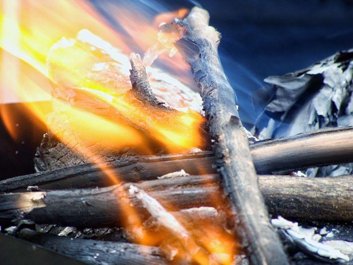 Fire Flames Flame Flames & Fire Smoke Wood Burning Burning Wood Close-up Closeup Fire And Flames Exceptional Photographs