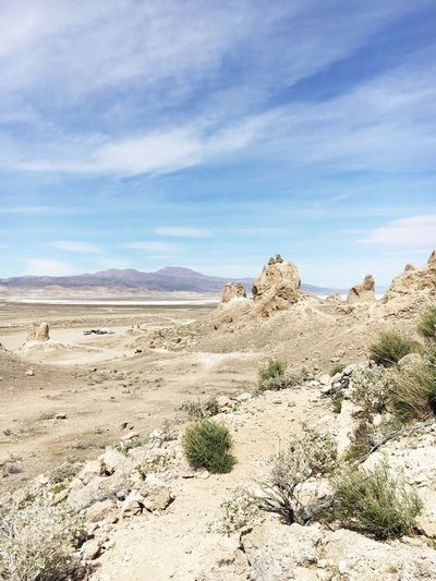 California United States Arid Climate Barren Beauty In Nature Day Desert Geology Landscape Mountain Nature No People Outdoors Physical Geography Remote Rock - Object Rock Formation Sand Dune Scenics Sky Tranquil Scene Tranquility Trona Pinnacles
