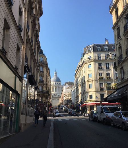 Pantheon Paris Architecture Street Travel Travel Destinations Tourism Tourist Attraction