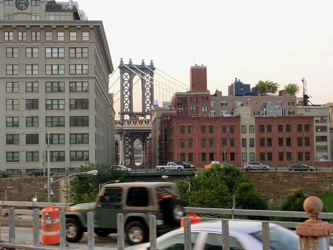 Architecture Built Structure City Building Exterior Day Outdoors No People New York USA Bridge Manhattan Bridge