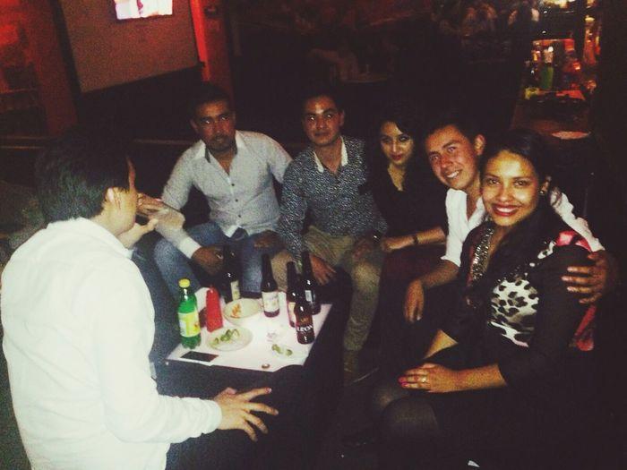 Bar Amigos. Agusto