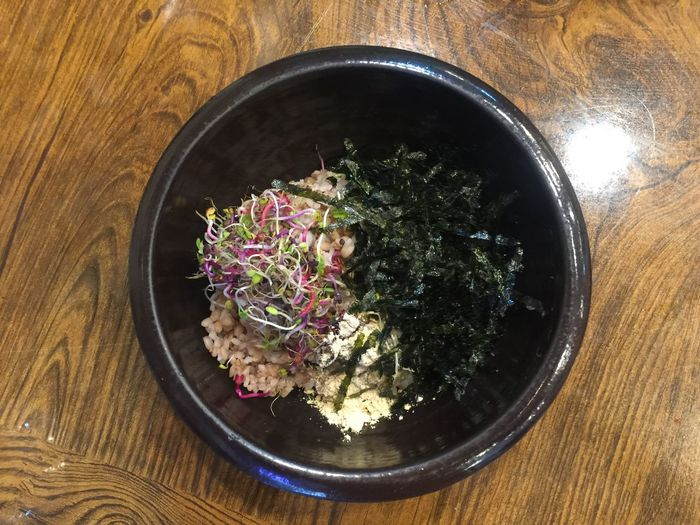 Rice Korean Food Korea Tradition Food Bibimbab