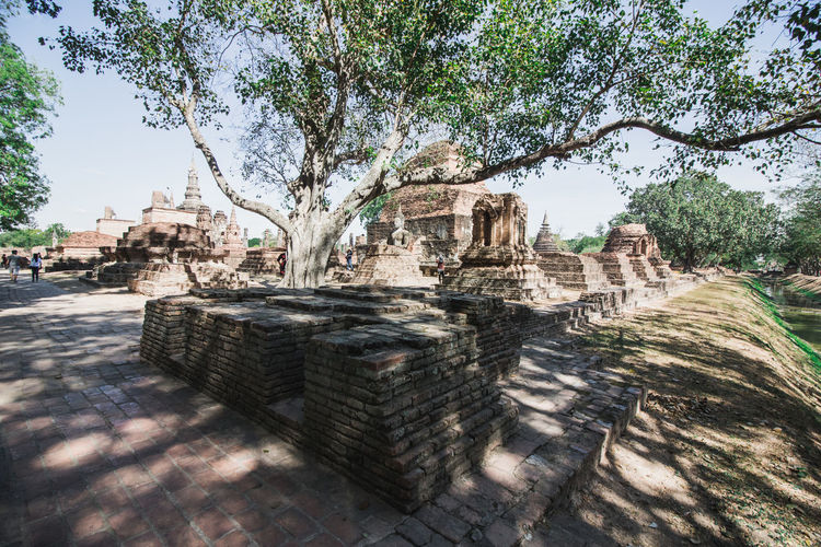 Old ruins of temple