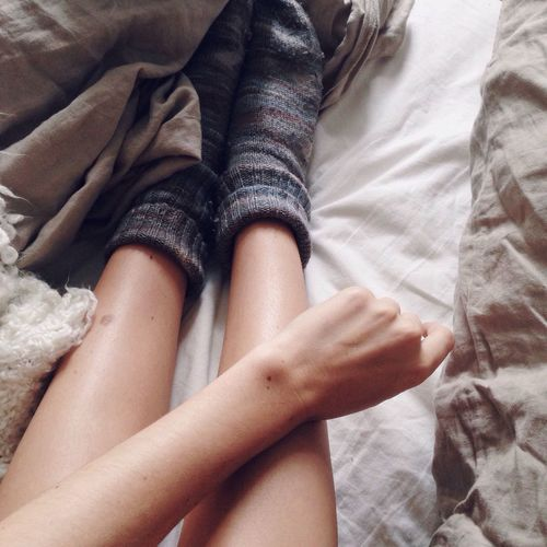 Bed Socks Cozy Sweaterweather Home Minimalism White Simplicity From My Point Of View