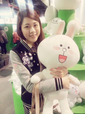 I love cony so cute Cony LINE At An Exhibition That's Me