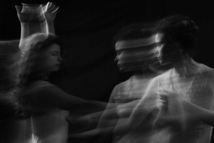 Blackandwhite Blancoynegro Contemplation Dance Fine Art Photography Fineart_photobw Girl Model Music Phantom Relaxation Studio Shot Photography In Motion
