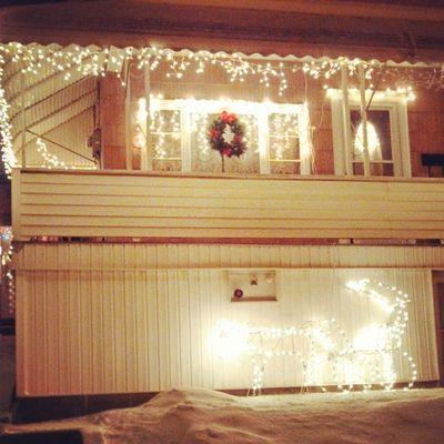 Christmas Lights White Pretty
