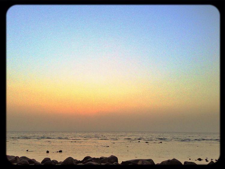 Sky Sea Before Dark