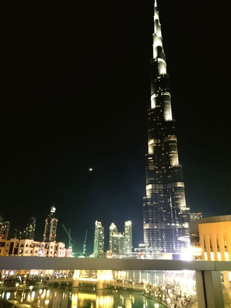 Dubai DubaiMall Beautifulbuildings Burjkhalifa Moon Fountain ThisView Amazing View