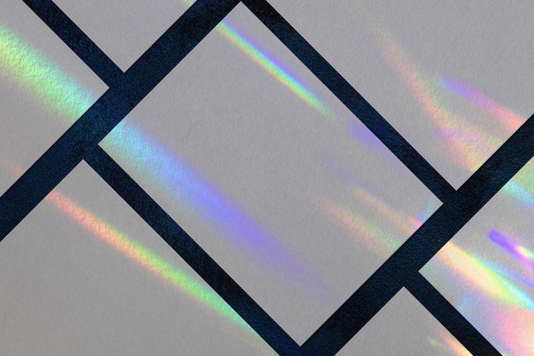 Full frame shot of rainbow on wall