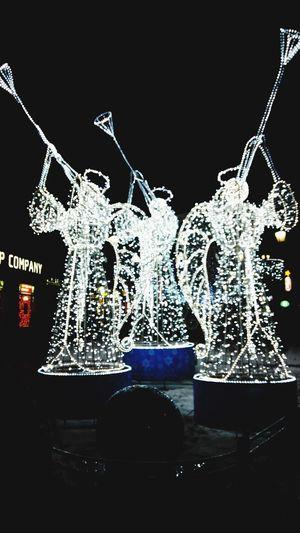 Angels Saint-Petersburg Shine Light New Year